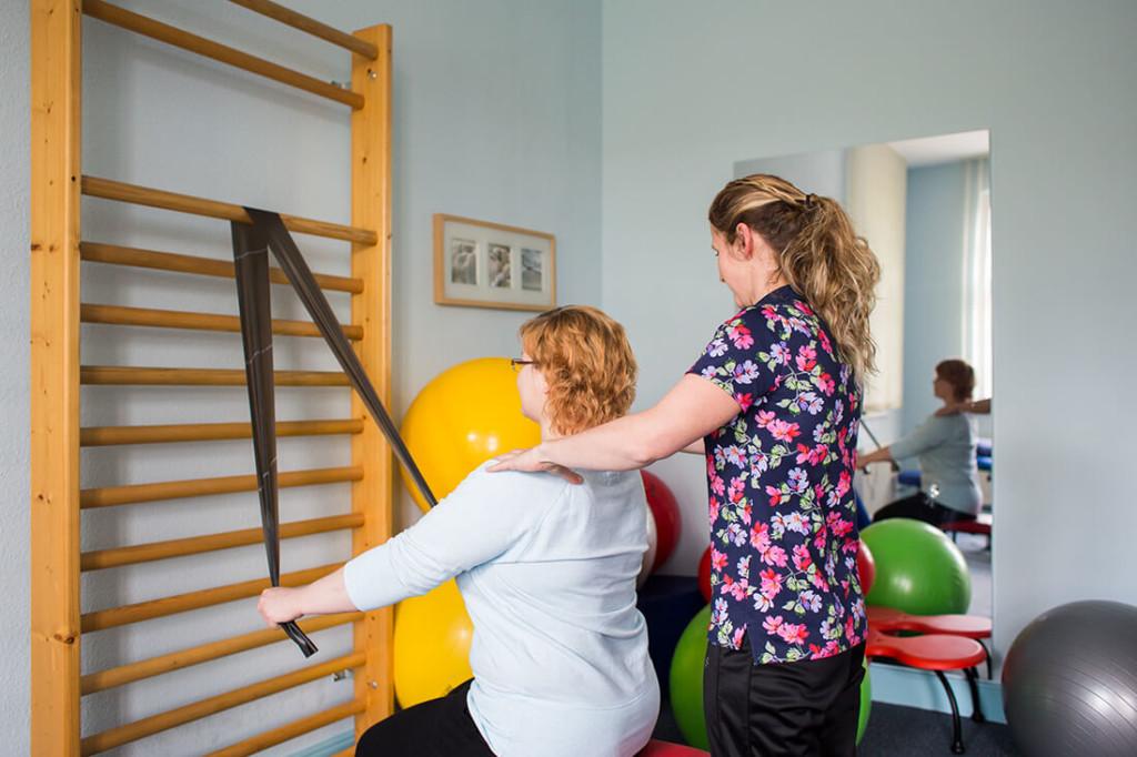 Physiotherapie Weißenfels - Anja Blum - Leistungen - Behandlung