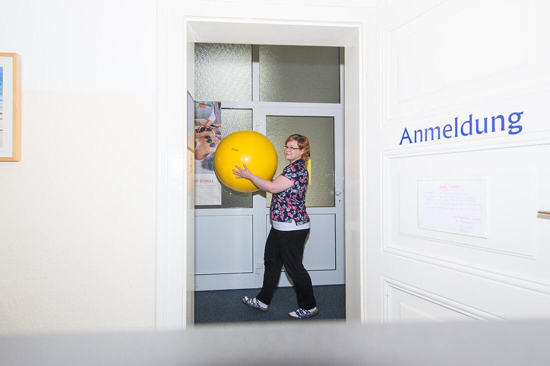 Physiotherapie Weißenfels - Anja Blum - Praxis - Anmeldung