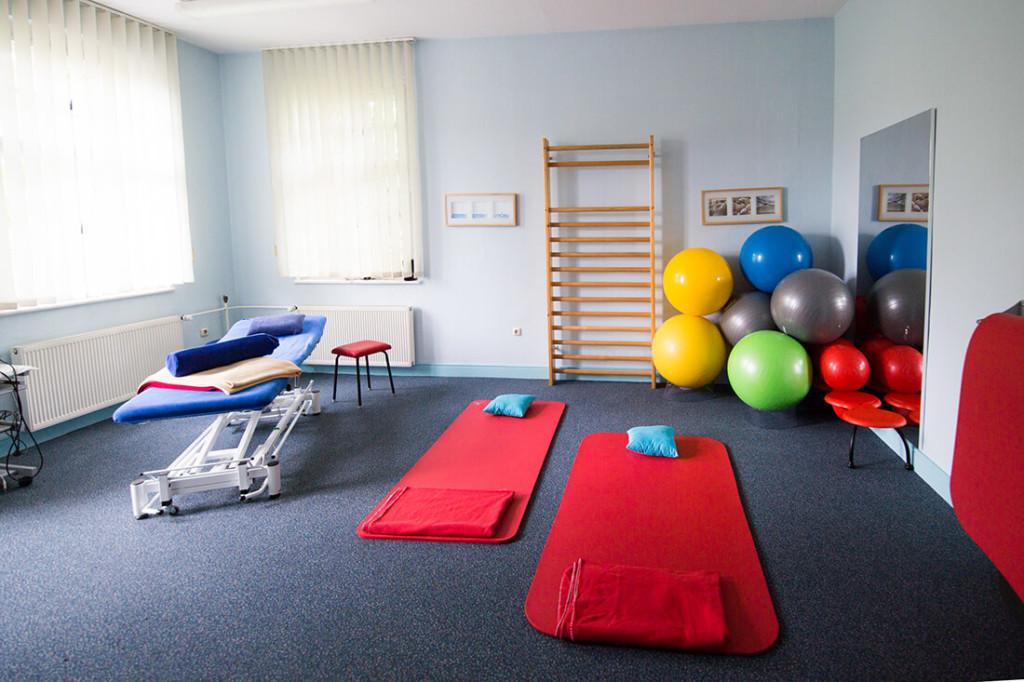 Physiotherapie Weißenfels - Anja Blum - Praxis - Behandlungszimmer